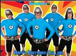 A4 Aquabats Personalised Edible Icing or Wafer Birthday Cake Topper